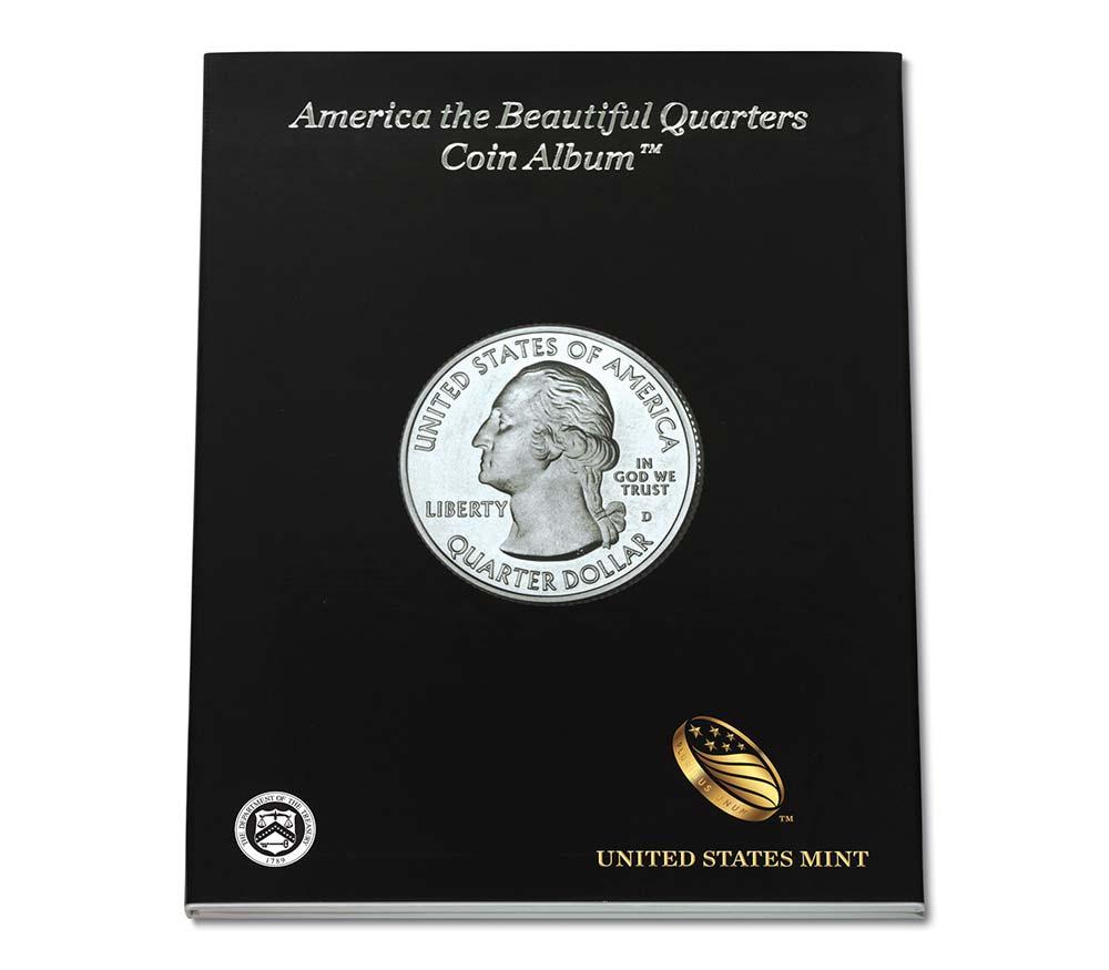 Us Mint Quarters Album - Us Quarter Map Printable