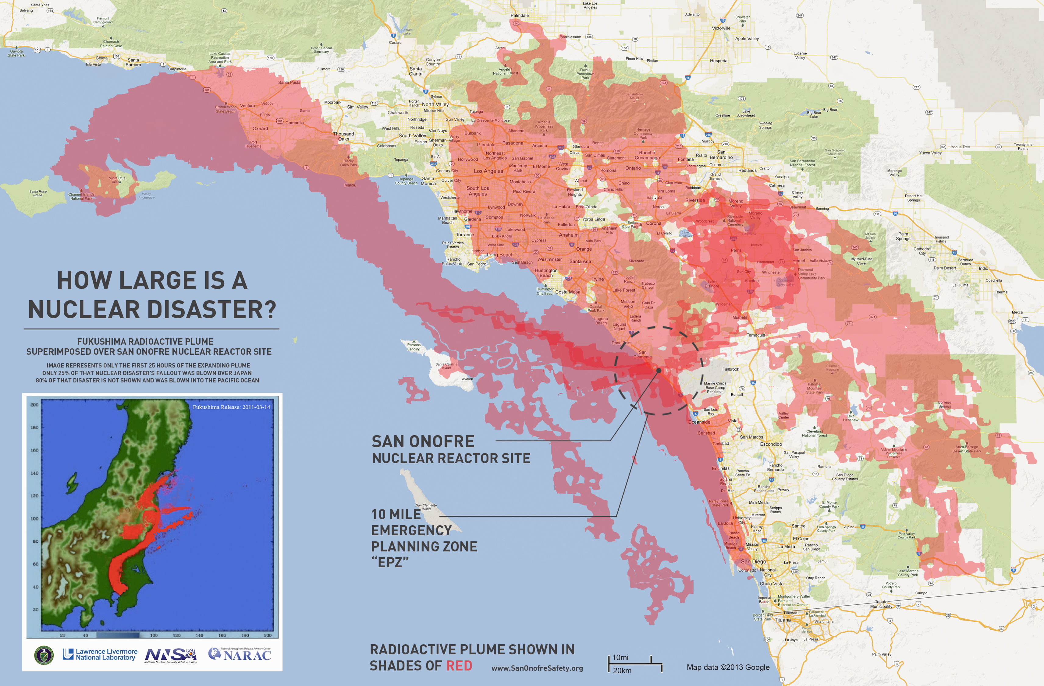 Us Nuclear Plant Melt California Map With Cities Nuclear Reactors In - Nuclear Power Plants In California Map