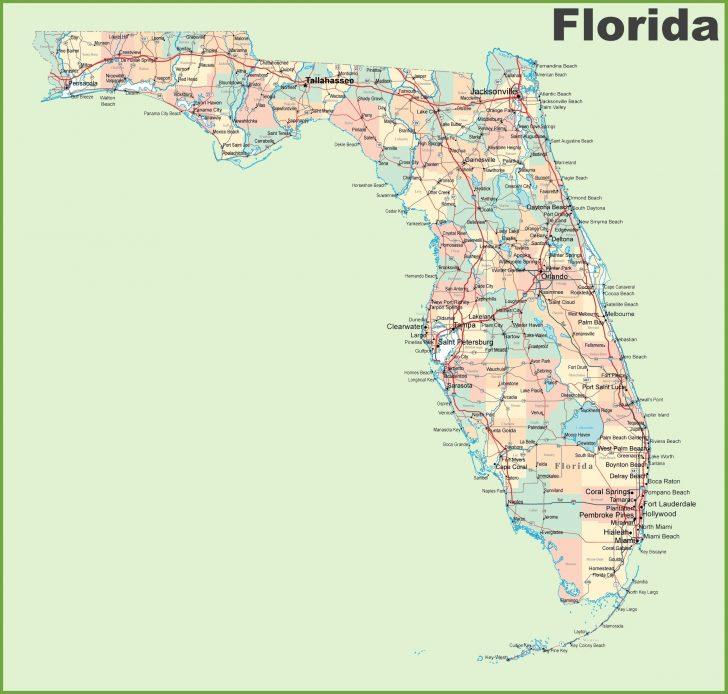 Florida Gulf Map