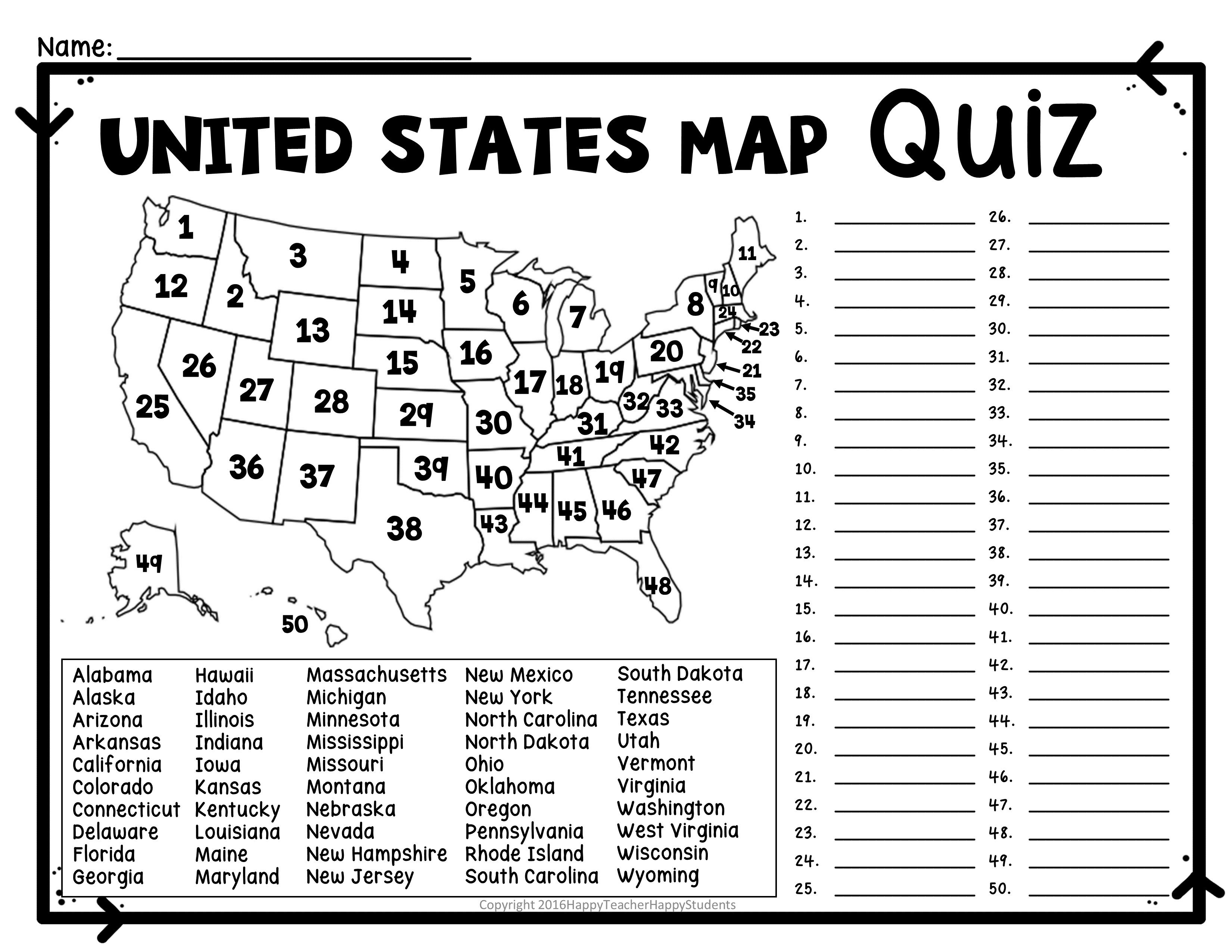 Us Rivers And Lakes Map Quiz New United States Map Puzzles Printable - United States Map Puzzle Printable