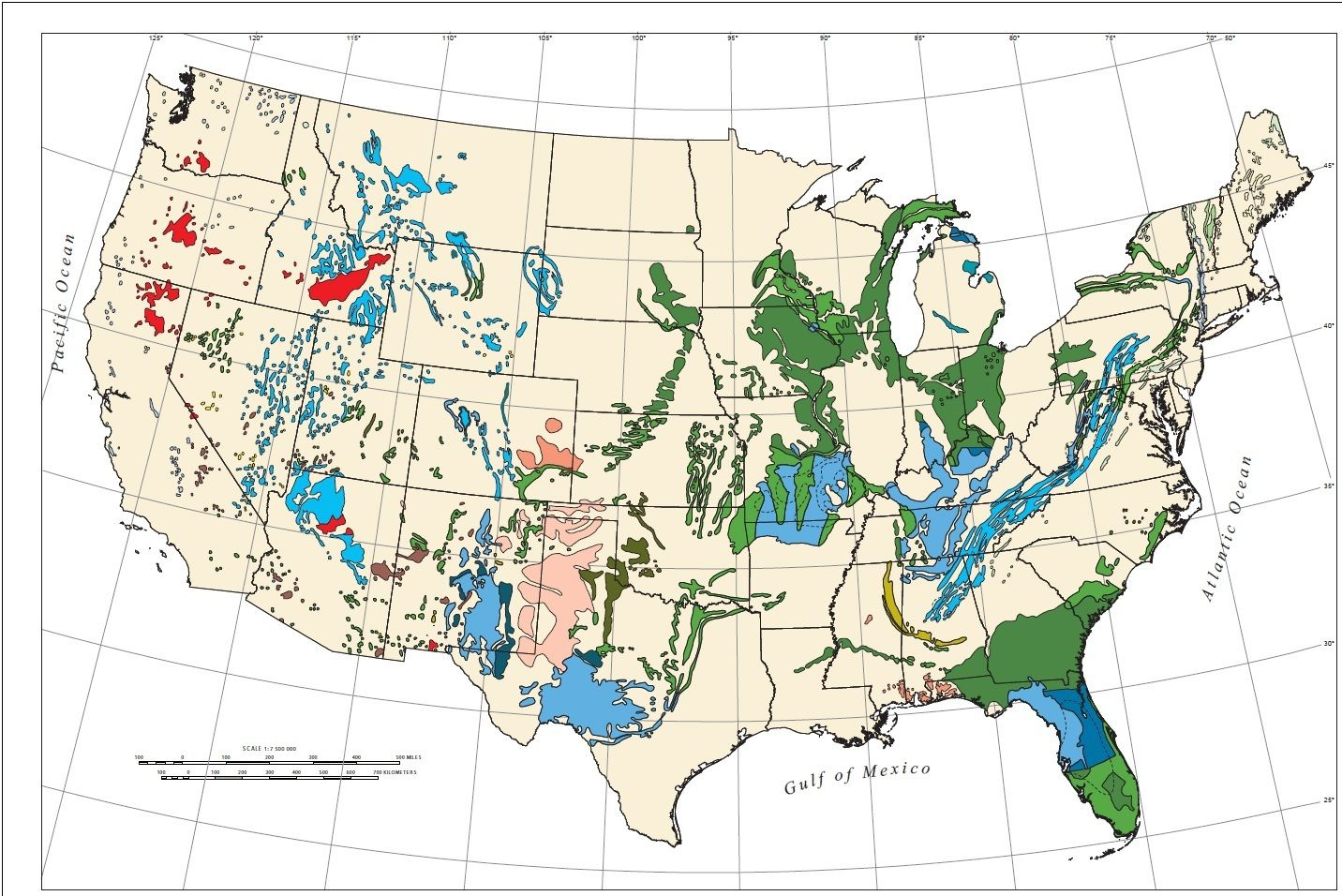 Us Sinkhole Map - Map Of Sinkholes In The Us. These Maps Show That - Florida Sinkhole Map By County