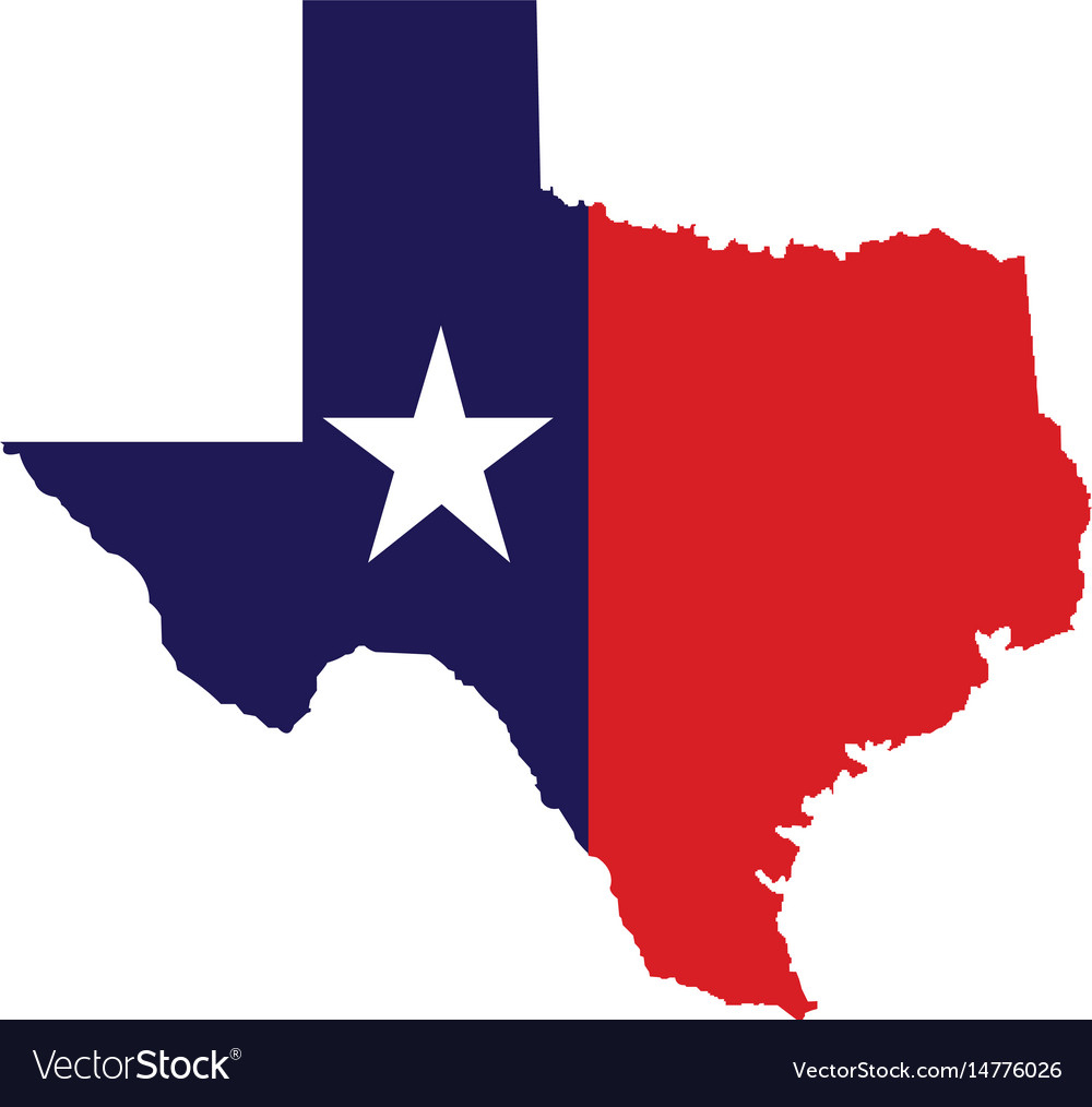 Us State Of Texas Map Logo Design Royalty Free Vector Image - Texas Map Vector Free