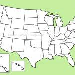Usa Blank Map   Large Usa Map Printable