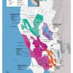 Usa: California, North Coast Wine Map In 2019 | Drinks | Pinterest   California Wine Map Poster