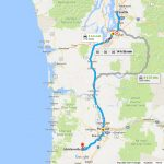 Usa West Coast Road Trip Itinerary: Seattle To San Francisco | Just   Seattle To California Road Trip Map