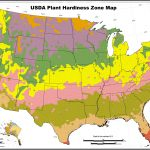 Usda Hardiness Zones Outline Map With California Climate Zones Map   Plant Zone Map California