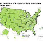 Usda Home Loan Requirements [Updated 2018] | The Lenders Network   Usda Loan Map California
