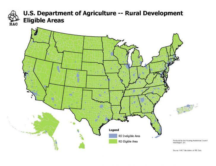 Usda Map Texas