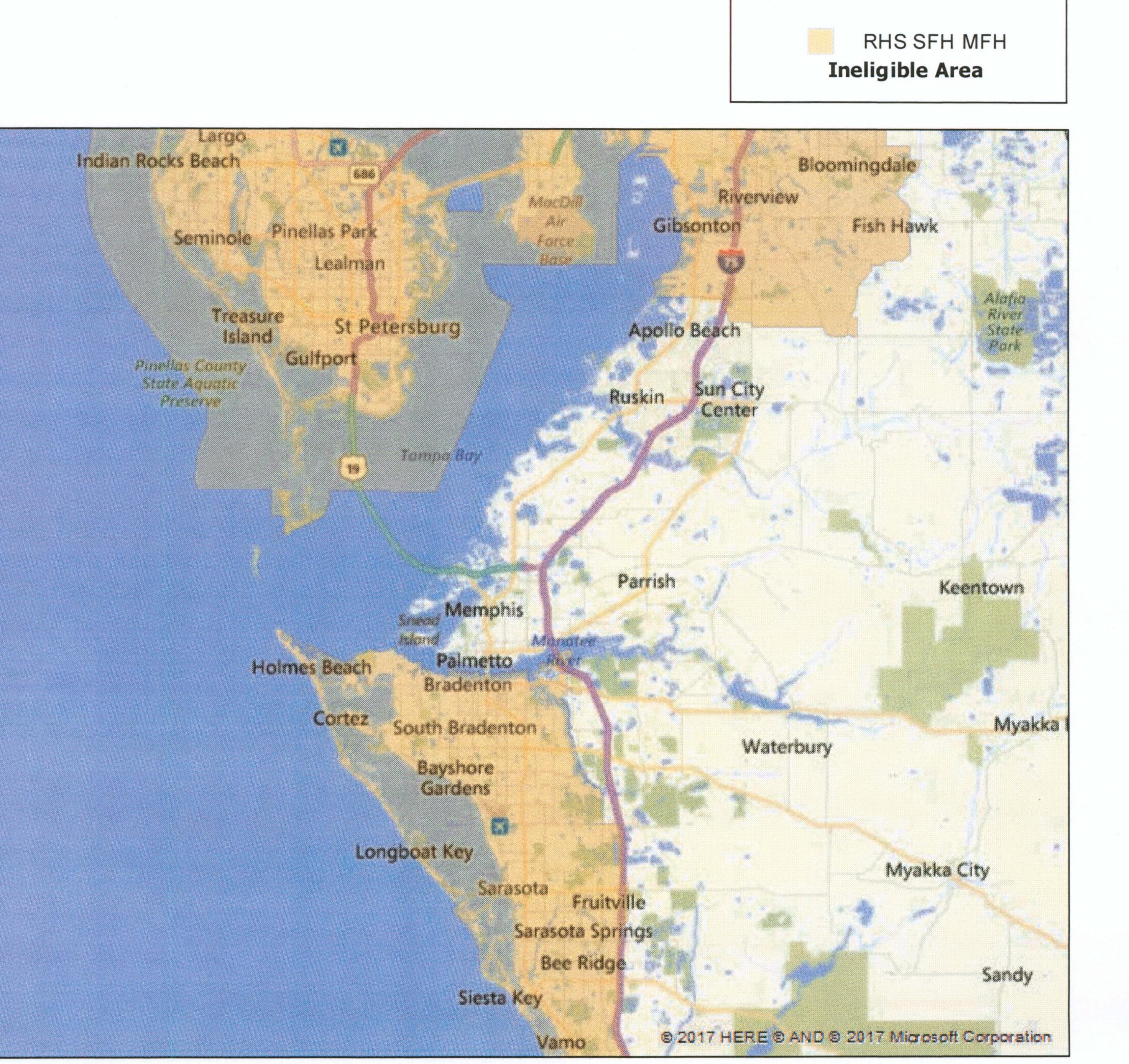 Usda Loan | Multiline Mortgage | (941) 201-9111 | Multiline Mortgage - Usda Eligibility Map Florida