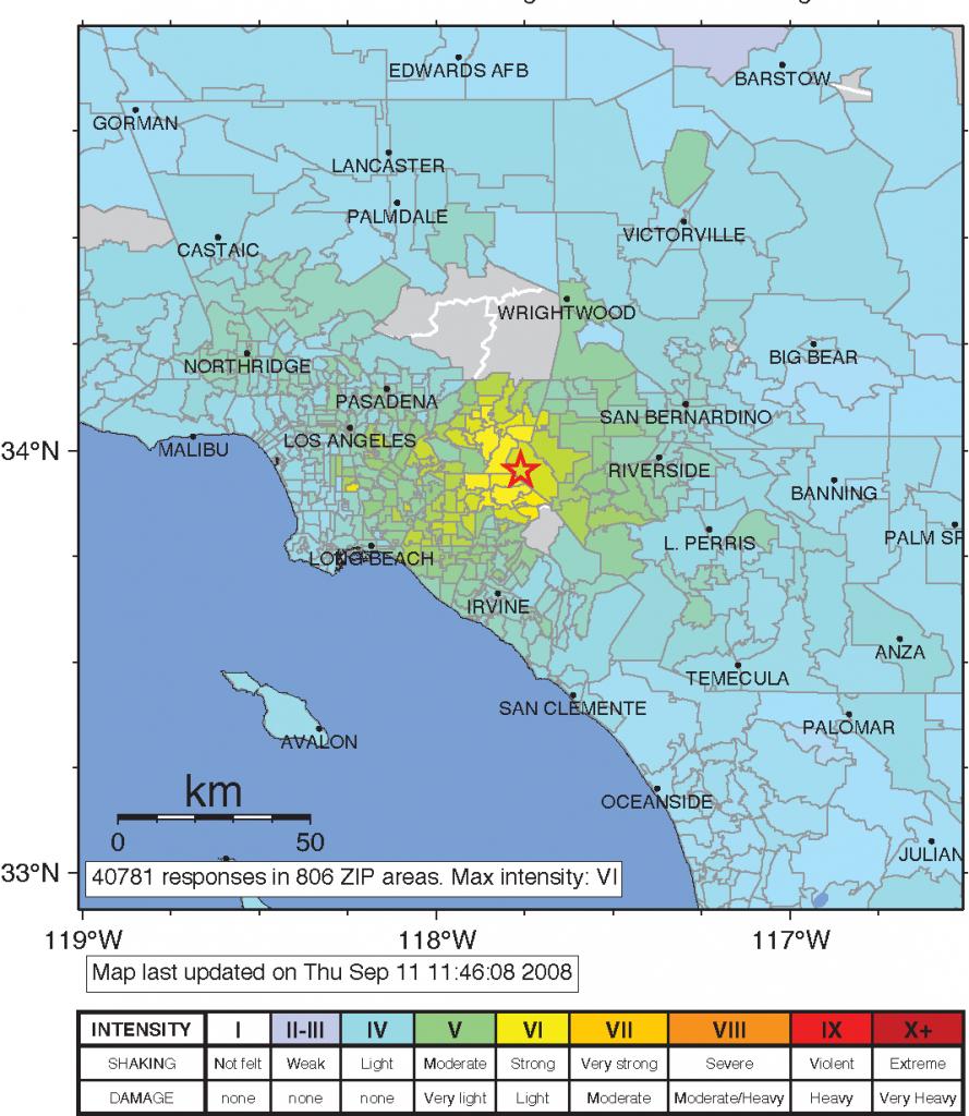 Usgs Gov Earthquake Map California - Klipy - Usgs Gov California Earthquake Map