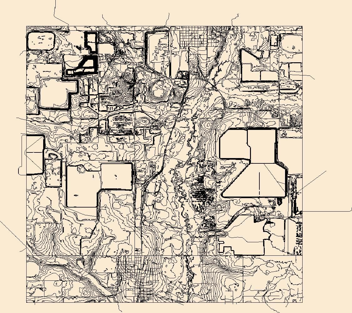 Usgs Topo Map Vector Data (Vector) 5074 Bowling Green, Florida - Bowling Green Florida Map