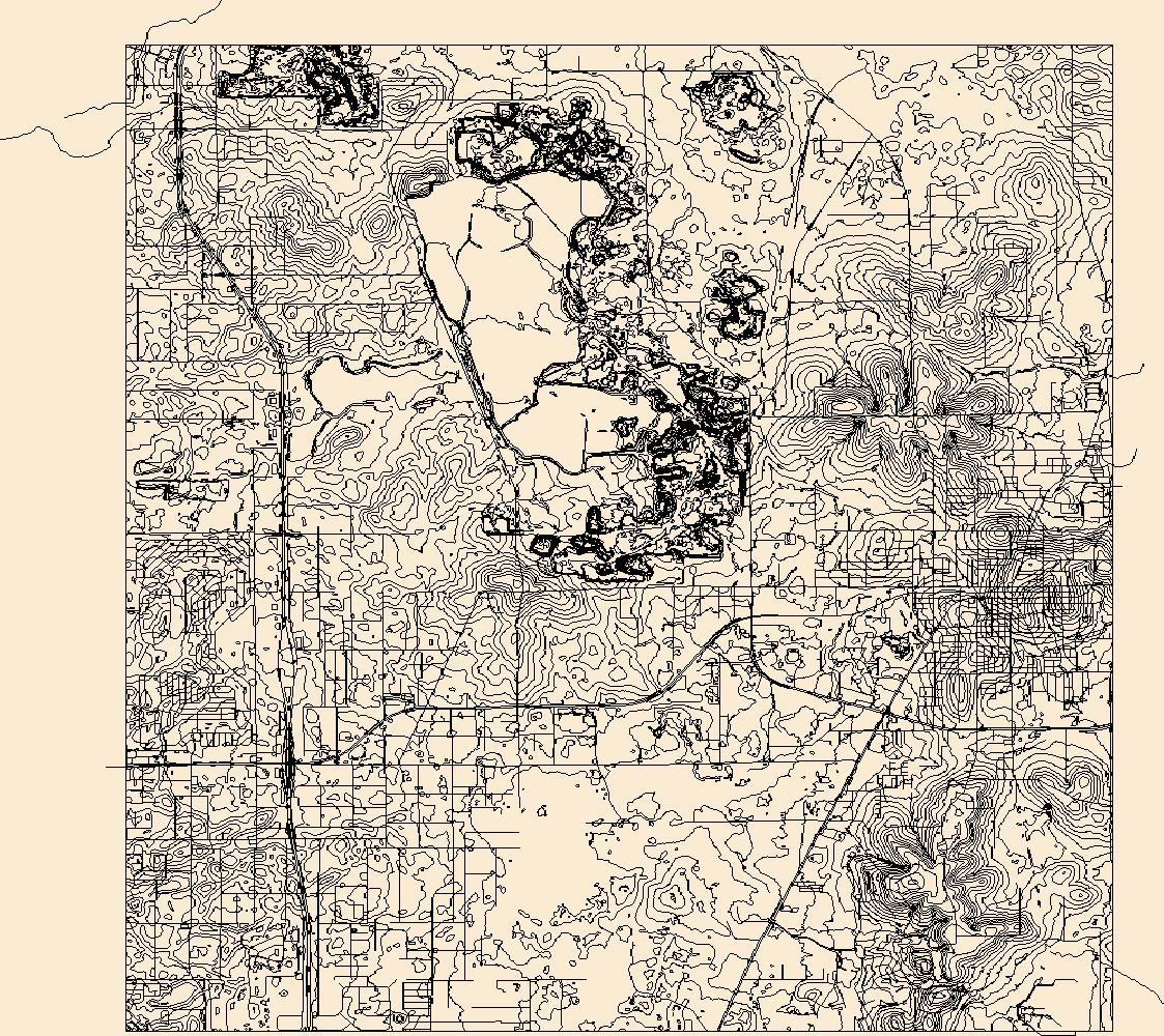 Usgs Topo Map Vector Data (Vector) 5655 Brooksville, Florida - Brooksville Florida Map