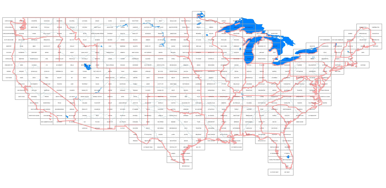 Usgs Topographic Maps Online, Topo Quad Jpg Drg Images - Buy Paper Topos - California Topo Map Index