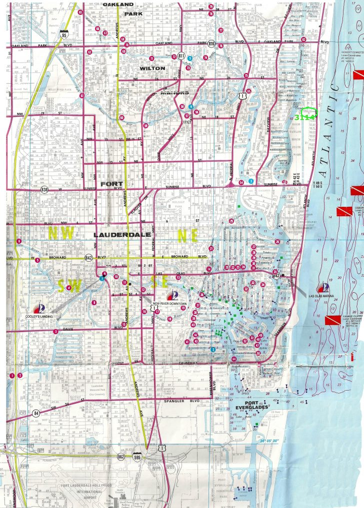 Street Map Of Fort Lauderdale Florida