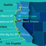 Valuable Tips For Planning A Drive From Seattle To Los Angeles In   Seattle To California Road Trip Map