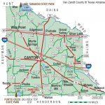 Van Zandt County | The Handbook Of Texas Online| Texas State   Van Zandt County Texas Map