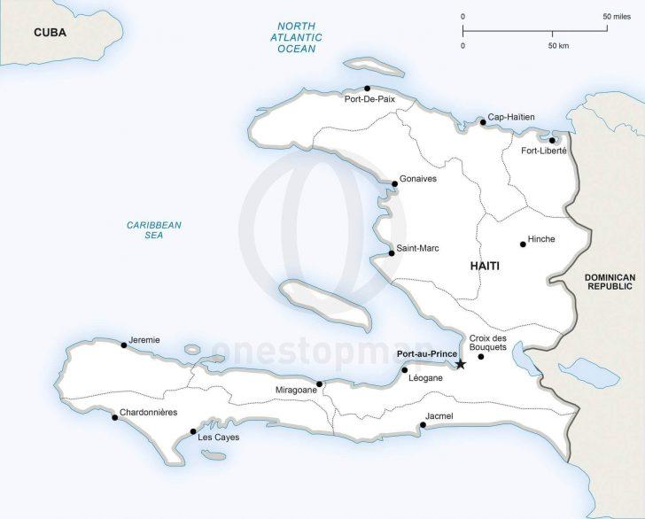 Printable Map Of Haiti