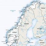 Vector Map Of Norway Political | One Stop Map   Printable Map Of Norway