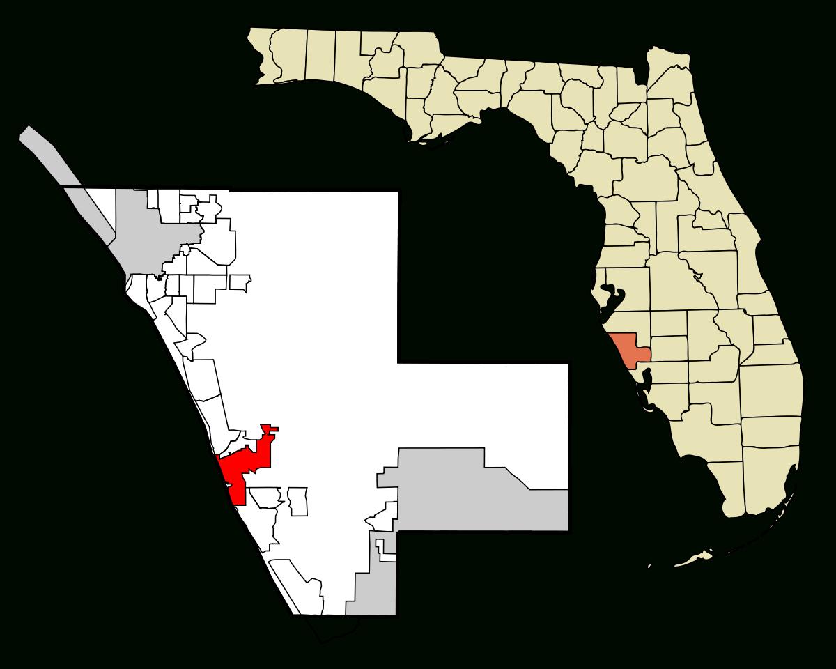 Venice, Florida - Wikipedia - Map Of Florida Showing Venice Beach