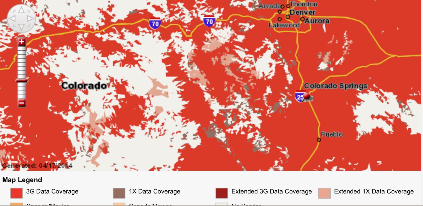 Verizon Coverage Map California - Klipy - Verizon Coverage Map In California