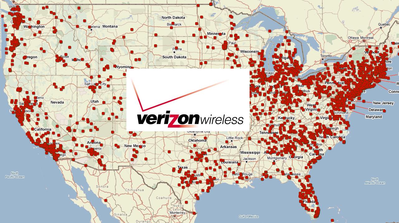 Verizonfull California State Map Verizon Wireless Coverage Map - Verizon Coverage Map California