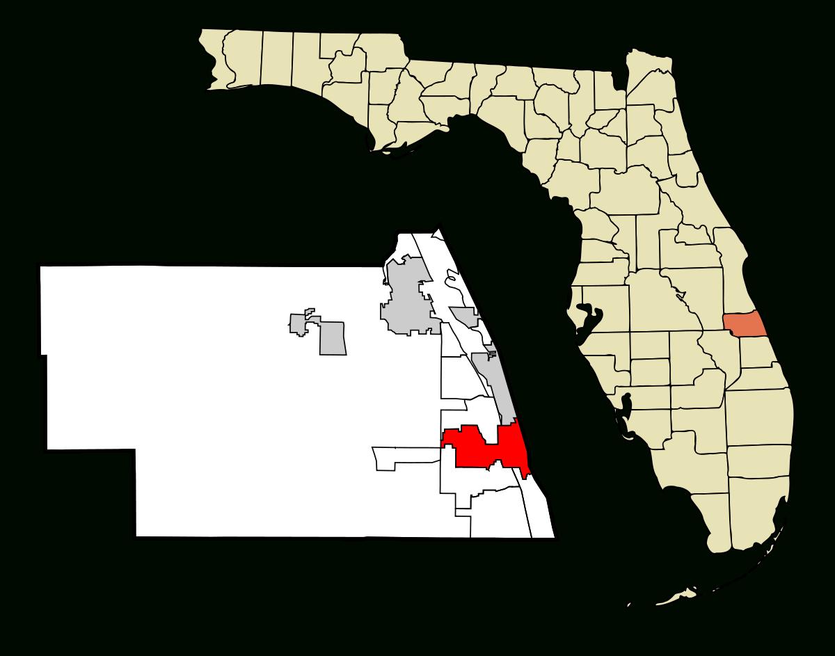 Vero Beach, Florida - Wikipedia - Indian Beach Florida Map