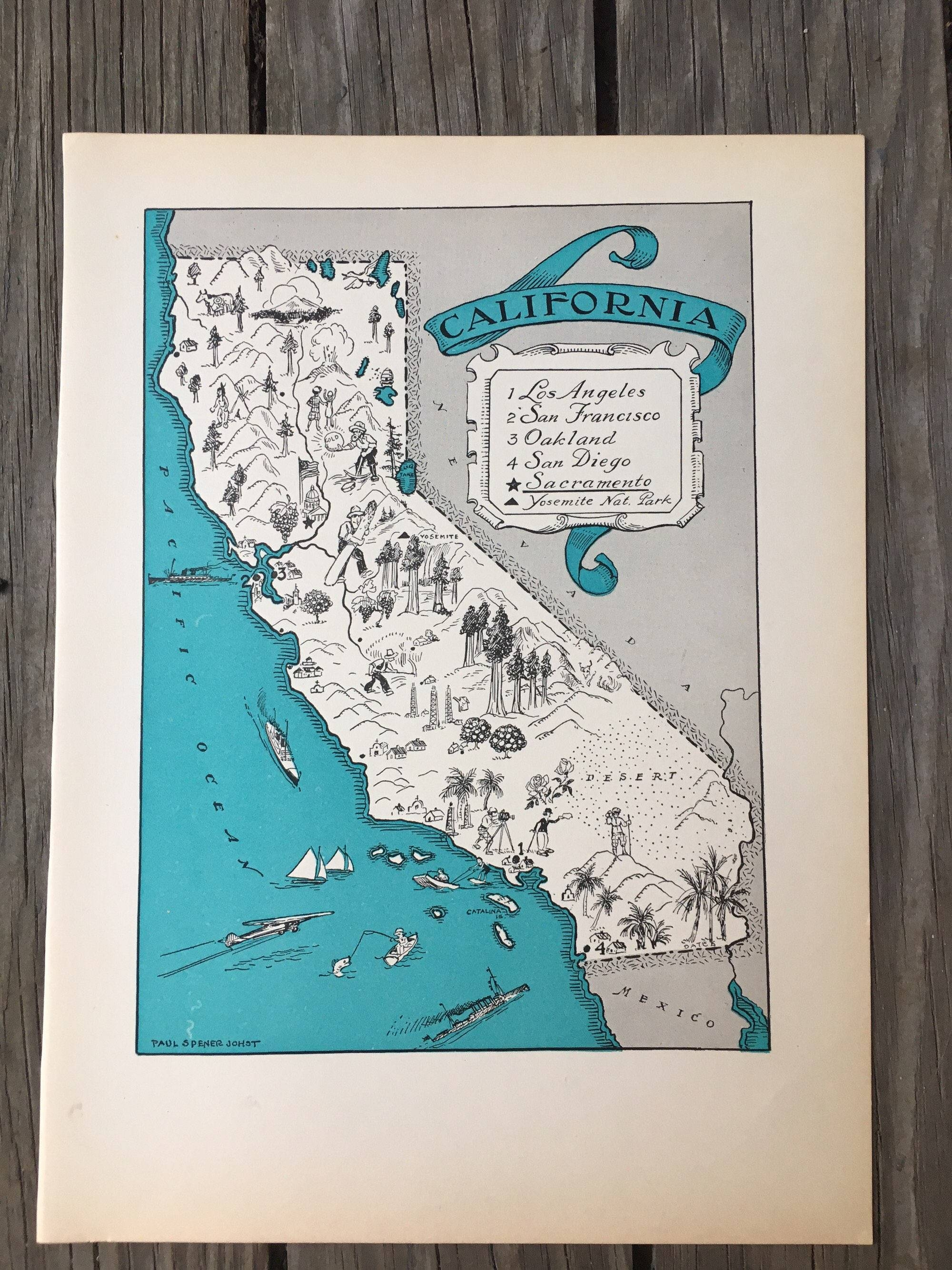 View Gallery Of San Diego Map Wall Art (Showing 11 Of 20 Photos) - California Map Wall Art