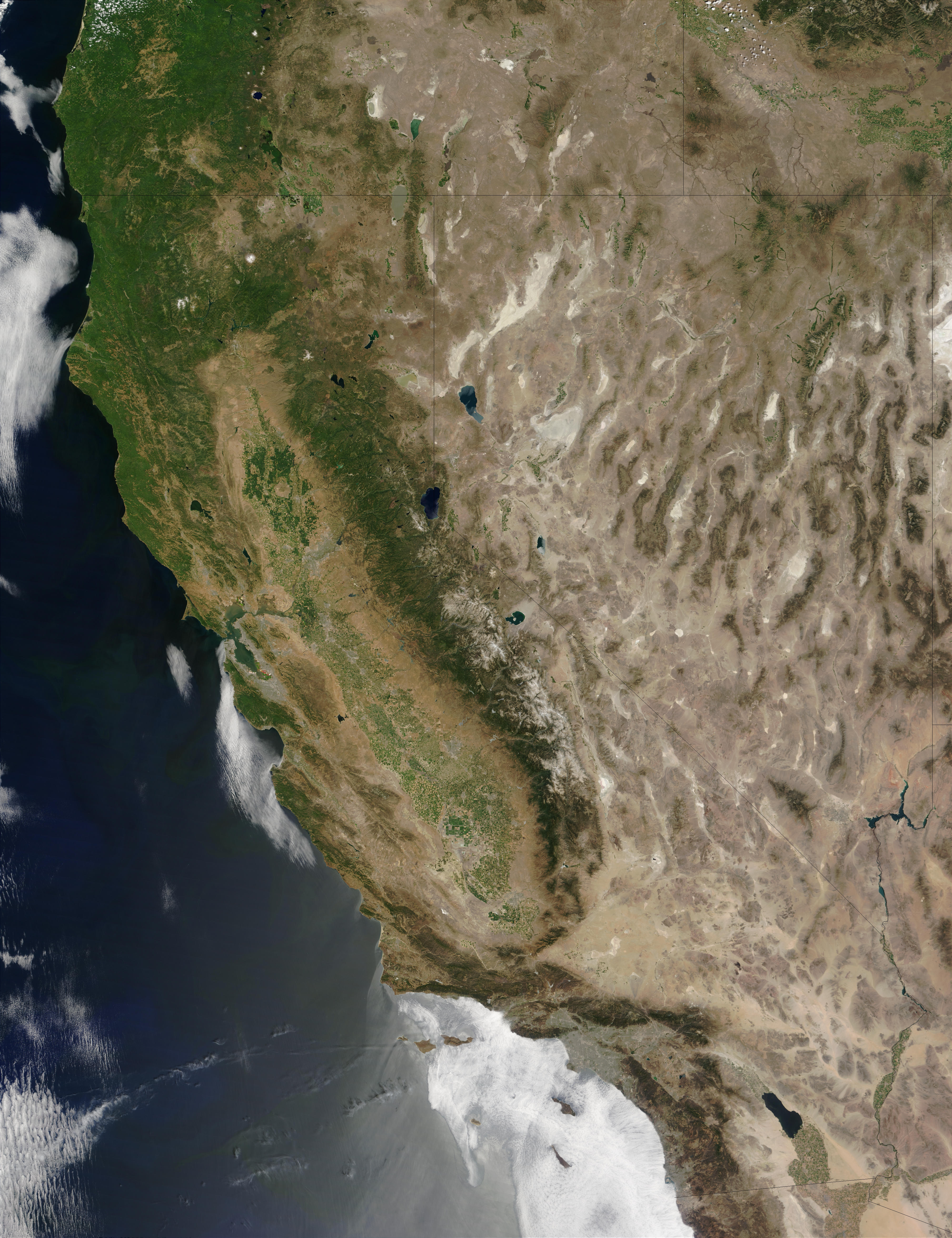 View Php California River Map Satellite Map California California - Satellite Map Of California