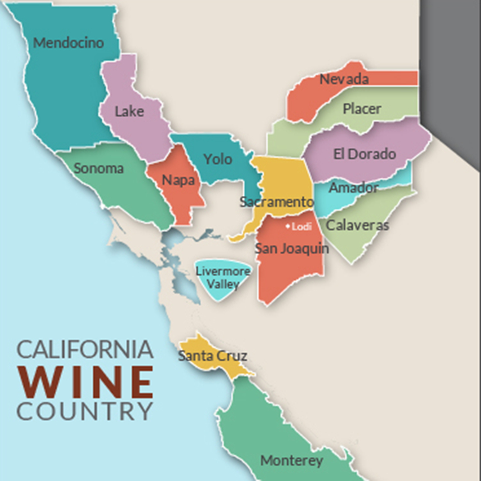 Vinoski Winery - Lodi, California - Lodi California Map