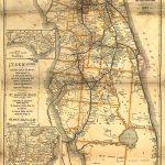Vintage Florida Map | Floride | Florida, Vintage Florida Et Old Florida   Vintage Florida Map
