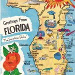 Vintage Florida Map | Graphic Design Styles | Pinterest | Vintage   Vintage Florida Map
