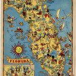 Vintage Florida Map | Obsessed With Maps  | Vintage Florida   Vintage Florida Map