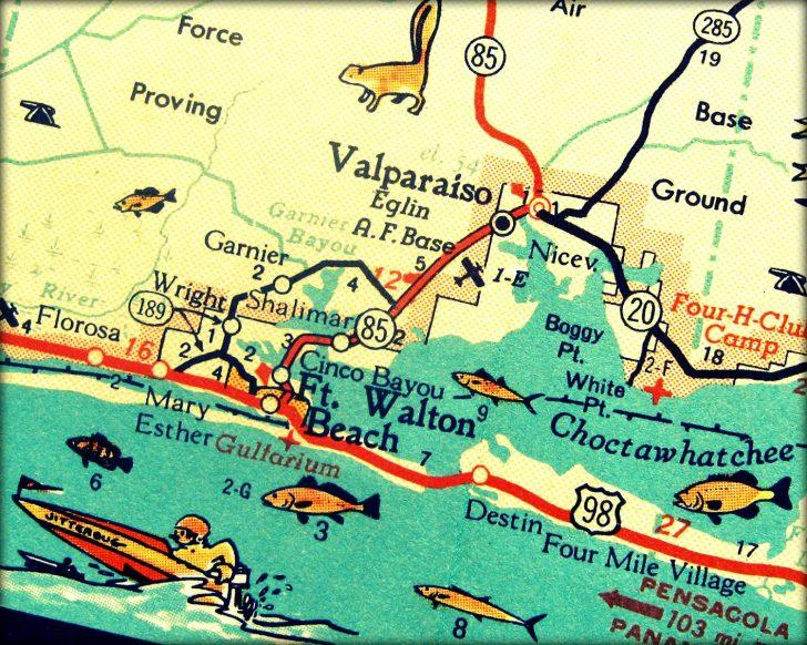 Denton Florida Map