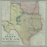 "Vintage Texas State Map""vintage Designs | Redbubble   Vintage Texas Map"