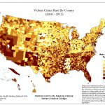 Violent Crime Ratecounty (2010 To 2012) – Ncmi   Orange County Florida Crime Map