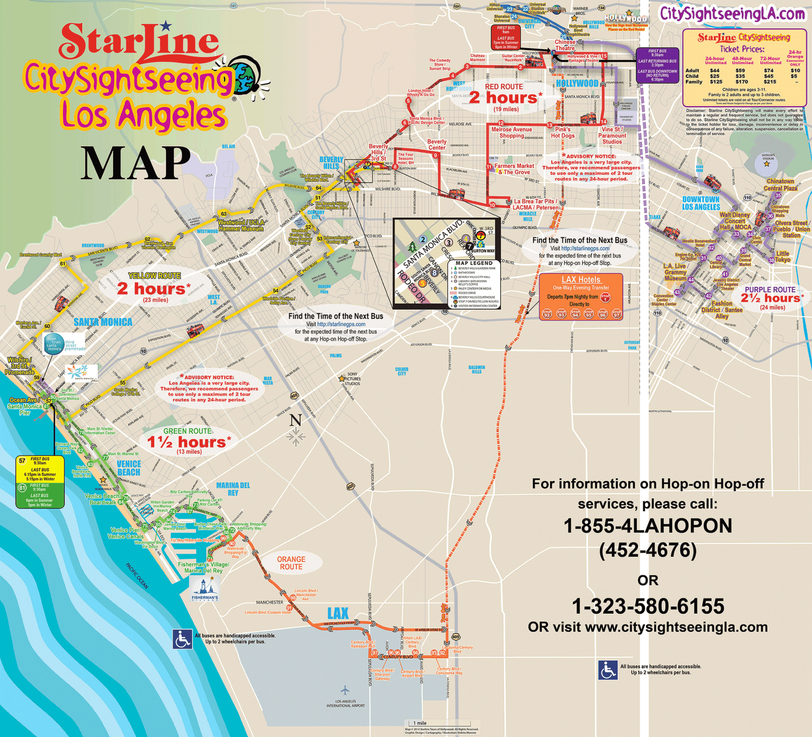Visiter Los Angeles 5 Jours - Map Of Los Angeles California Attractions