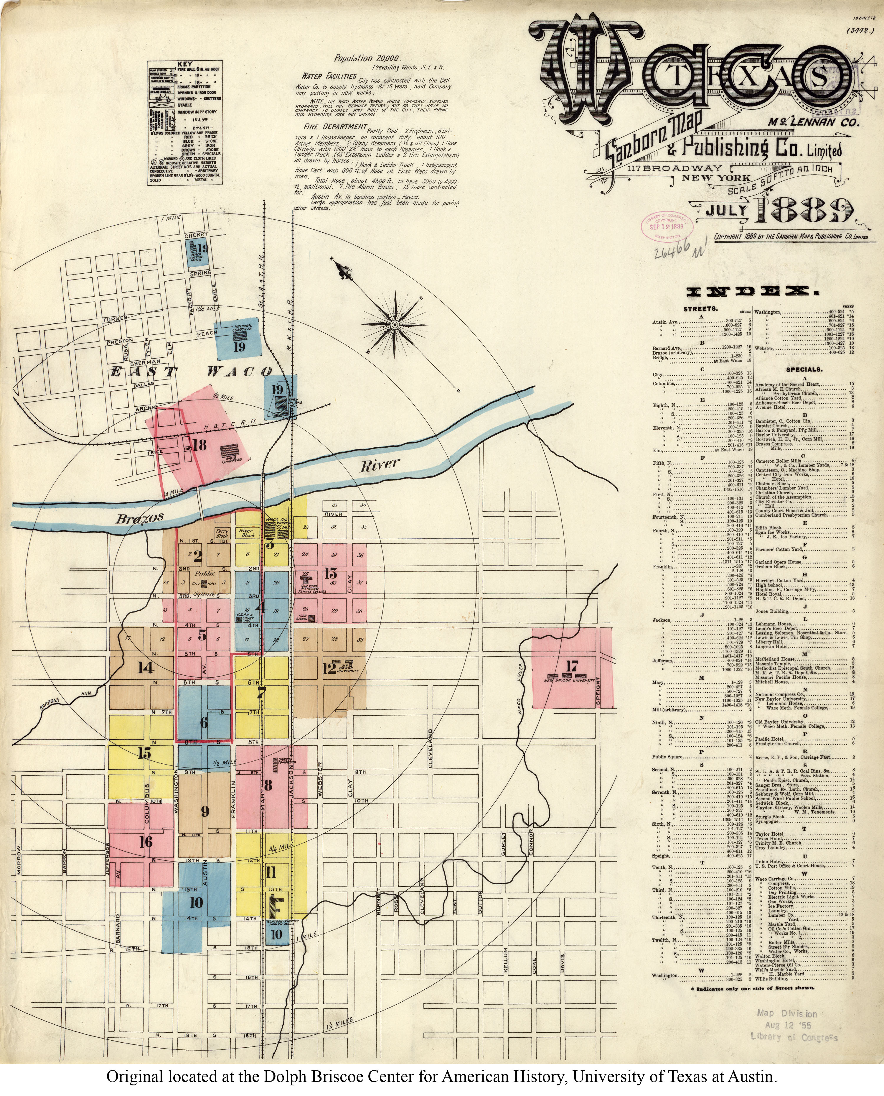 Waco Texas Map Location And Travel Information   Download Free Waco - Map Of Waco Texas And Surrounding Area