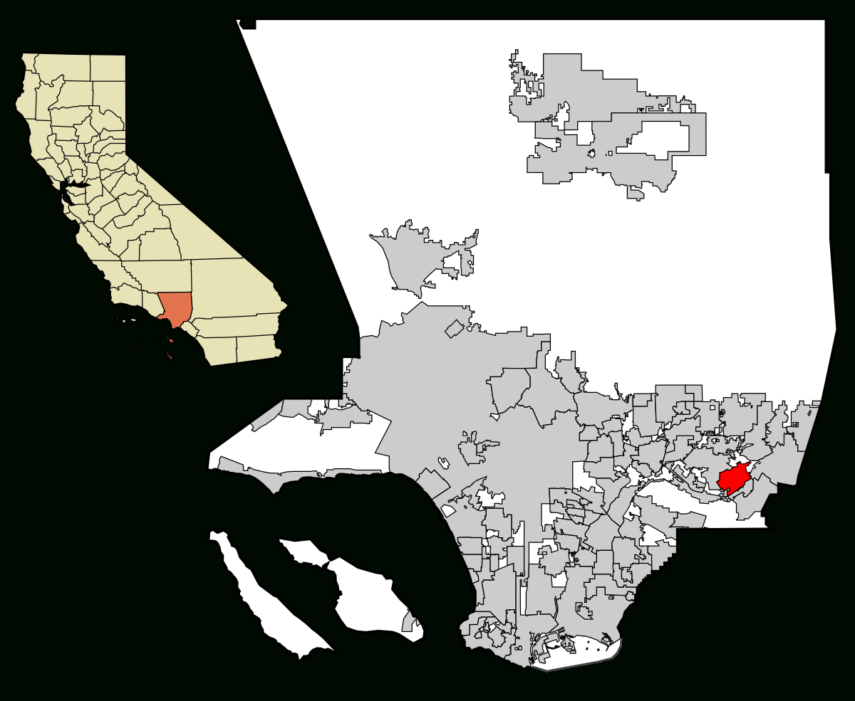 Walnut, California - Wikipedia - Walnut California Map