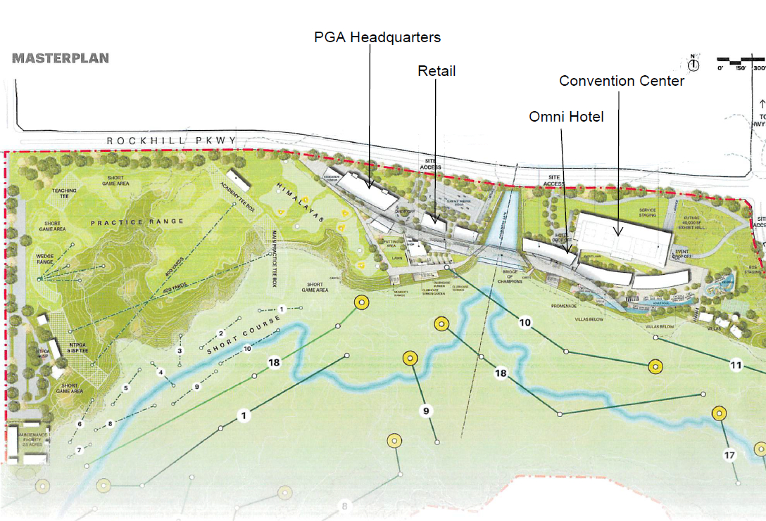 Want To Golf Like A Pro? New Pga Courses In Frisco Will Allow Public - Map Of Texas Showing Frisco