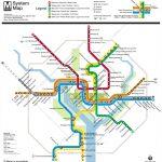 Washington, D.c. Subway Map | Rand   Printable Washington Dc Metro Map