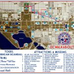 Washington Dc Tourist Map | Tours & Attractions | Dc Walkabout   Printable Walking Map Of Washington Dc