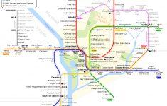 Washington Metro – Wikipedia – Printable Metro Map Of Washington Dc
