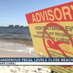 Water At Yacht Club Beach In Cape Coral Closed To Swimmers   Florida Beach Bacteria Map 2018