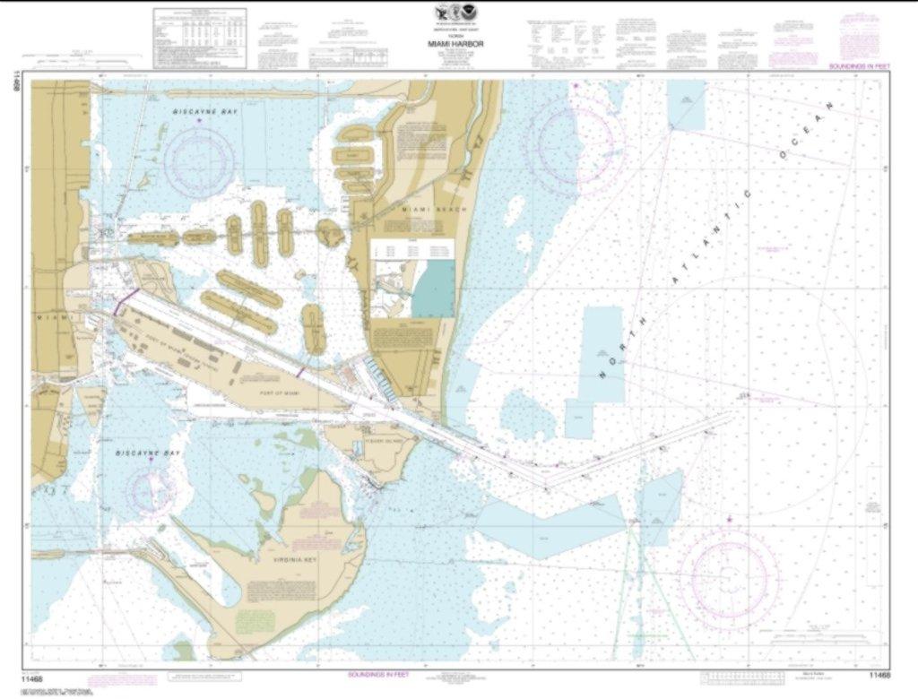 Water Depth Maps Florida - Water Depth Map Florida