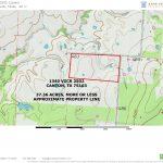 Water Hill Farm   Canton Texas Map