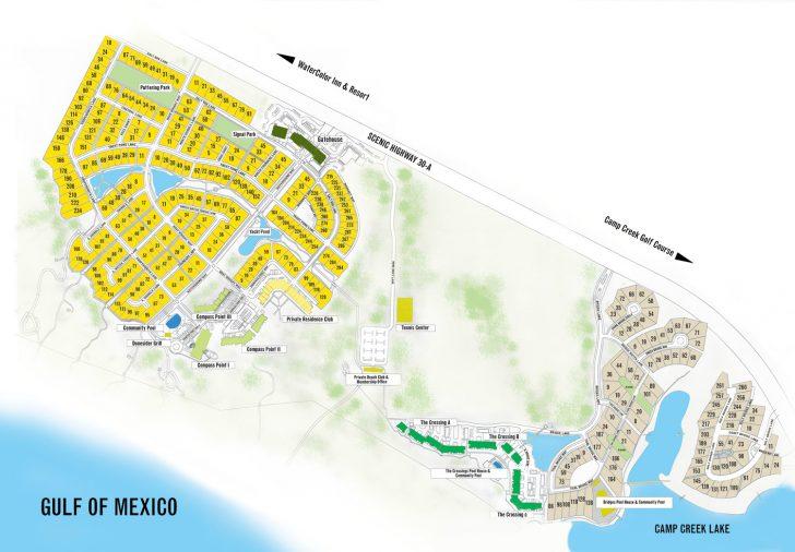 Rosemary Beach Florida Map