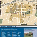 Wayfinding Downtown Map Thumbnail | Asheville, Nc | Pinterest   Printable Map Of Downtown Asheville Nc