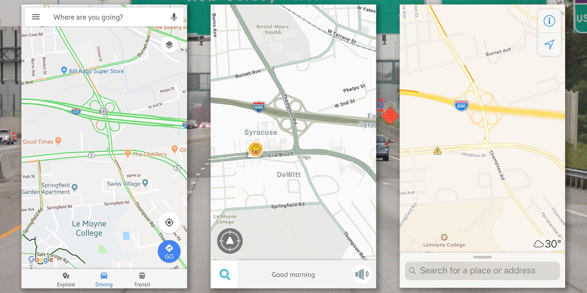 Waze Vs Google Maps Vs Apple Maps: The Best Navigation App - Google Maps Hollywood Florida