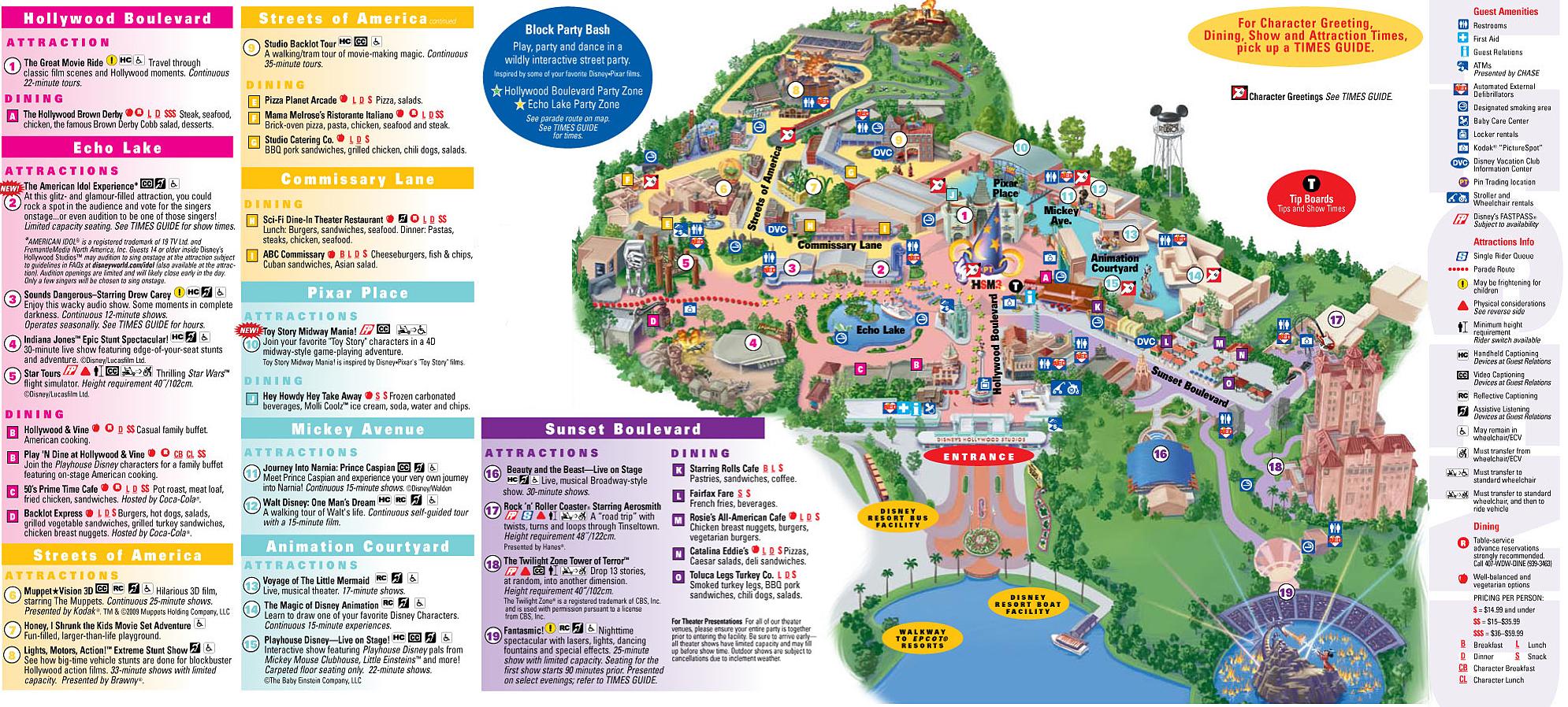 Wdw Park Maps | Wdwprince - Florida Parks Map