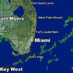 Weather Forecast: Cold Front Coming Wednesday   Nbc 6 South Florida   Florida Weather Map Today